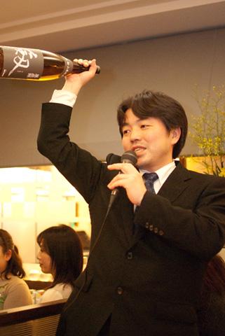小堀社長より提供いただいた日本酒のご紹介。
