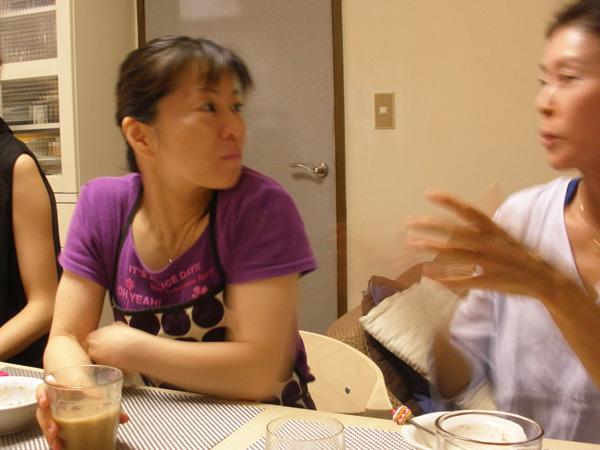 美奈先生はとっても明るく楽しいのでティータイムの時間もものすごく楽しく、あっという間に時間が立ってしまいました。
