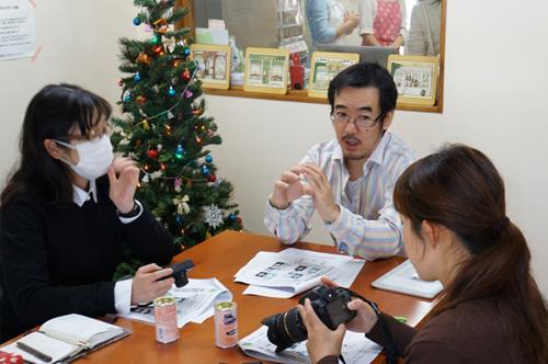 カメラマンの川名マッキー氏による「趣味の写塾」も行なわれています。