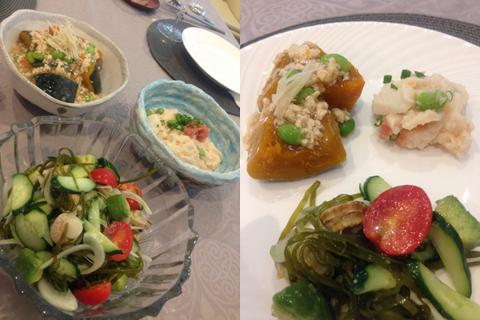 そして、今回のお野菜料理3品。