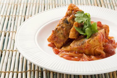 ~ベトナムで人気の定番おかず~ 厚揚げの肉詰め・柚こしょう風味