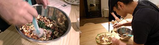 「花カフェ」で毎日ランチとして提供させてもらっているので、ぜひ一度食べに来てください。