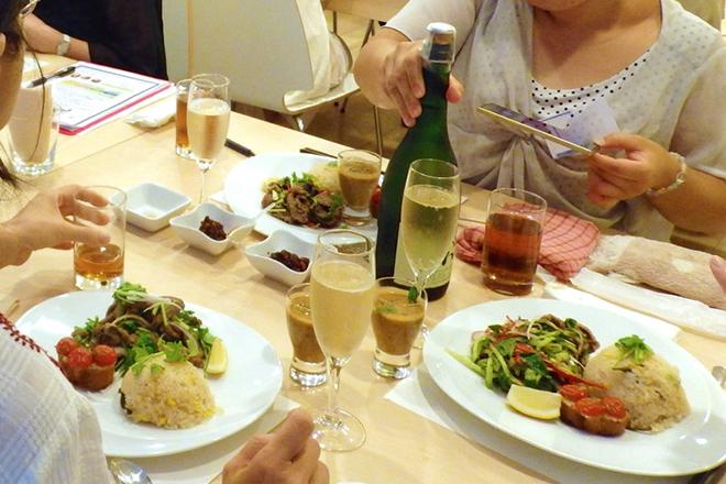 8月【HOBBYCOOKING×andparty~夏野菜丸ごとたっぷり!~】