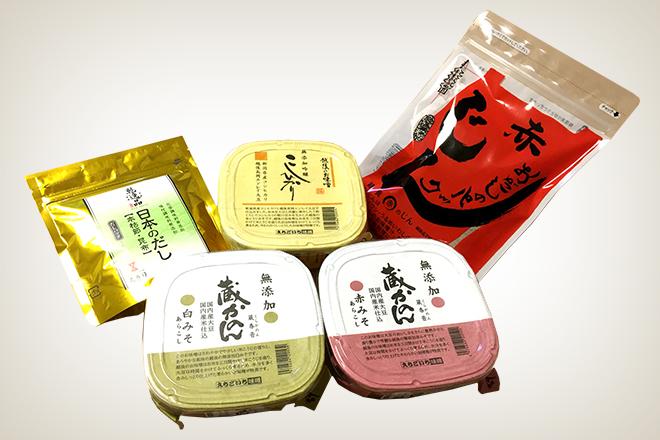五味商店・ごちそう味噌汁セット