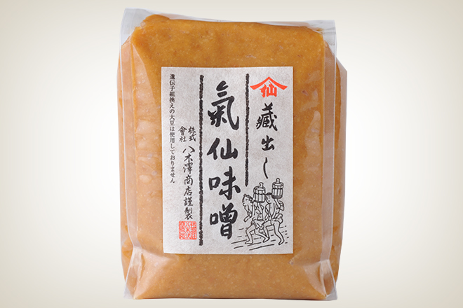 気仙味噌(赤)(株式会社八木澤商店)