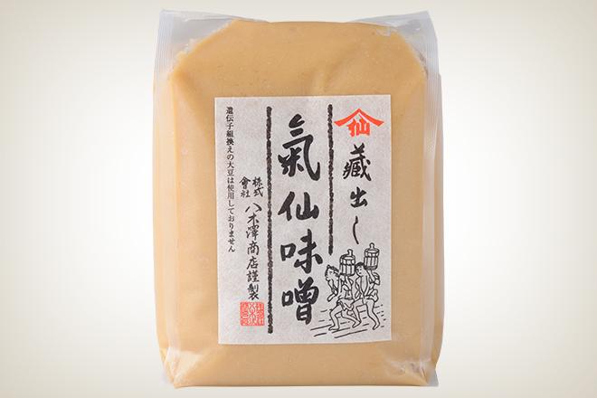 気仙味噌(白)(株式会社八木澤商店)