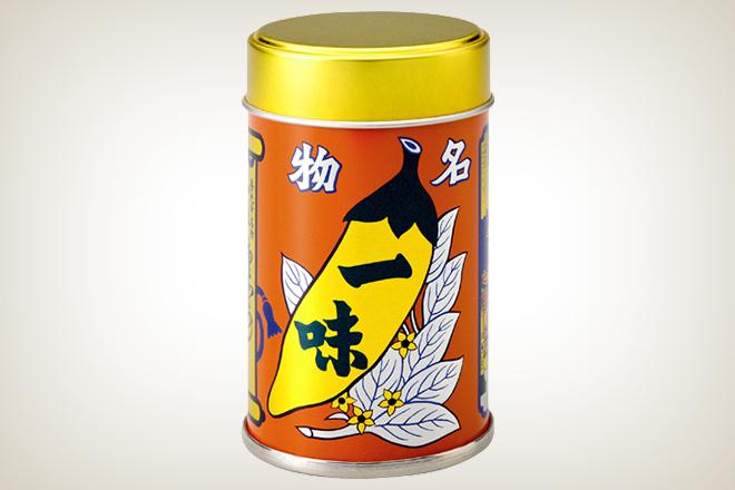 一味唐からし 大辛缶(株式会社八幡屋礒五郎)