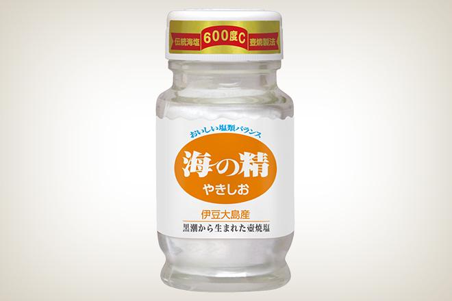 海の精やきしお60g (食卓ビン)(海の精株式会社)