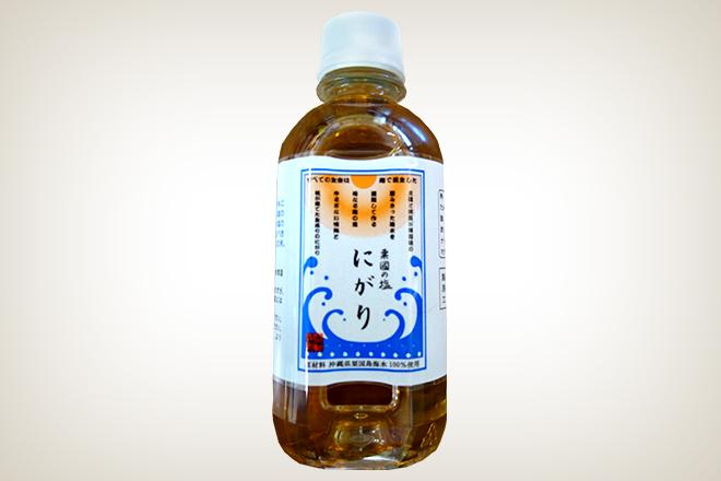 粟國の塩にがり(株式会社沖縄海塩研究所)