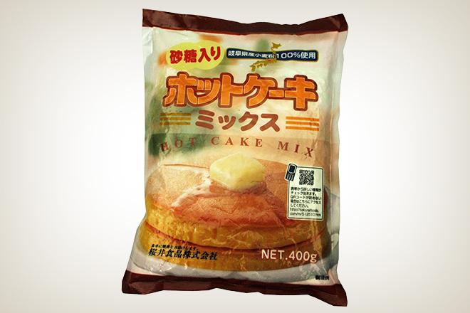 ホットケーキミックス(有糖)(桜井食品)