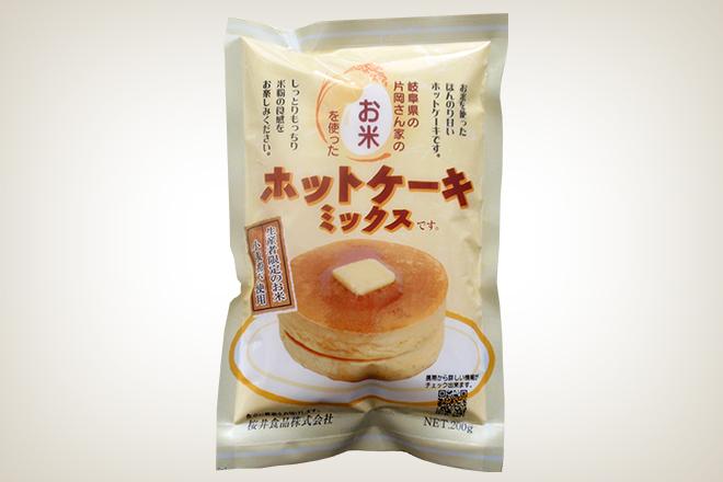 お米のホットケーキミックス(桜井食品)