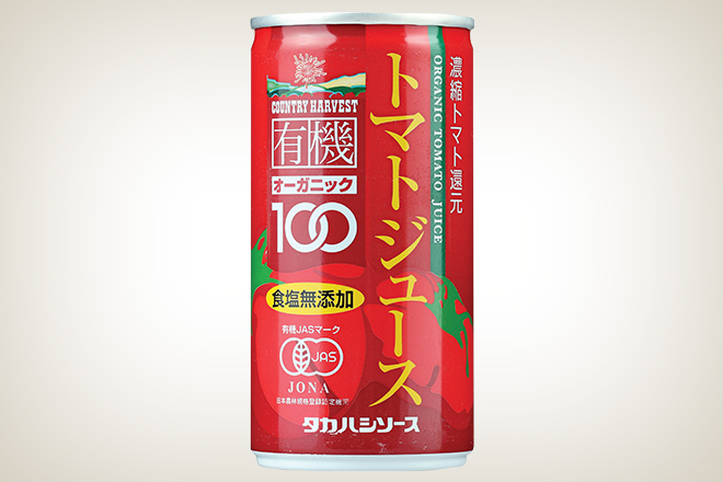 有機トマトジュース(高橋ソース株式会社)