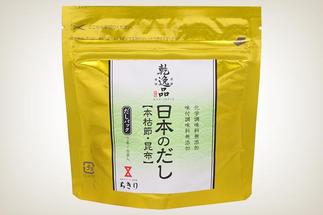 乾逸品 日本のだし 本枯節・昆布(ちきり清水商店株式会社)