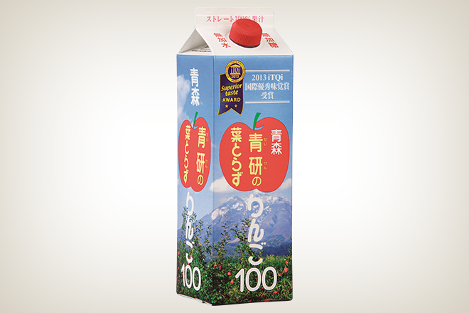 青研の葉とらずりんご100(青研株式会社)